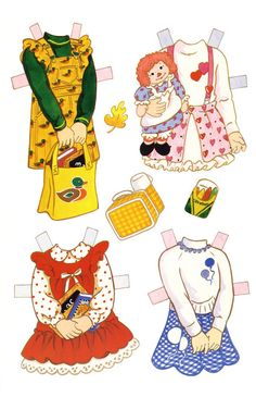 Friends At School Paper Dolls - MaryAnn - Picasa Albums Web