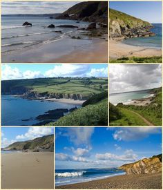 More images of Hemmick Beach Cornwall.