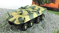 BTR-90 1:72 8Х8 wheeled armored personnel carrier Fabbri model