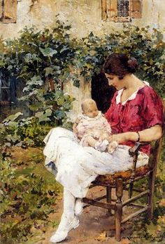 The First Born, Marie Aimée Eliane Lucas-Robiquet