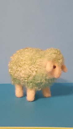 Unique Needle felted whimsical wool sheep by WhitmoreWhimsicals on Etsy