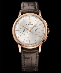 Cellini Jewelers Elite Chronograph Classic 18K RG automatic movement 42mm case