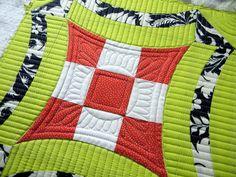 "Sew Kind Of Wonderful: Quilting ~ ""Urban Nine Patch"""