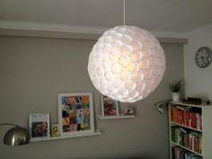 Afbeeldingsresultaat voor lantaarn van plastic bekers diy