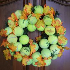 Topspin Tennis Wreath