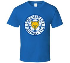 Leicester City EPL English Premier Soccer Football Team T Shirt All Sizes