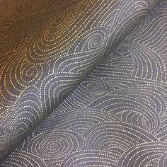 Chiyogami Grey Waves