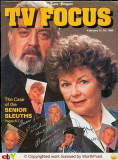 Della Street & Perry Mason or Barbara Hale & Raymond Burr