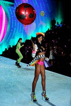 Victoria's Secret Fashion Show 2013 - Socialphy Jasmine Tookes walks the runway at the 2013 Victoria's Secret Fashion Show. (Photo by Jamie McCarthy/Getty Images)