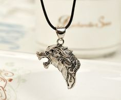 Game of Thrones wolf pendant necklace, A Song of Ice and Fire pendants