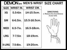 mens bracelet sizing - Google Search
