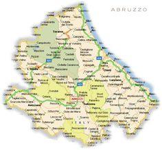 Mappa del territorio Abruzzo