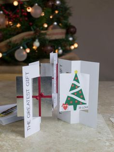 How To Make a Handmade Holiday Card All Things Christmas, Christmas Crafts, Christmas Decorations, Christmas Ideas, Xmas Cards, Holiday Cards, Greeting Cards, Love Gifts, Diy Gifts