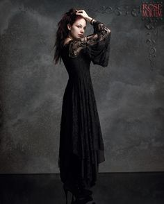 Romantic Gothic Dress: Phaedra Gown by Rose Mortem