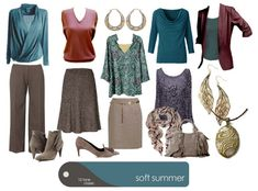 Soft Summer collage by True Colour International Truecolour.com.au