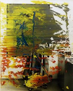 Gerhard Richter over painted photographs