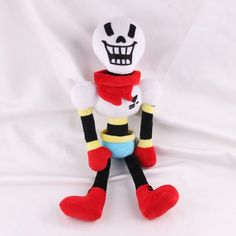 Undertale Papyrus Plush Doll Toy for sale online Plush Dolls, Doll Toys, Papyrus, Cute Plush, Best Birthday Gifts, Birthday Ideas, Christmas Gifts For Kids, Xmas, Top Gifts