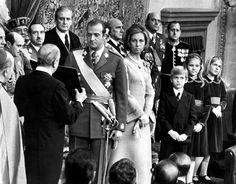Madrid, 22.11.1976 – Proclamación de Don Juan Carlos como Rey de España | © EFE