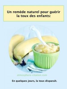 Un remède naturel pour guérir la toux. L'efficacité de la crème de banane a été prouvée dans le traitement de la toux persistante et la bronchite. Elle est particulièrement efficace sur les enfants, mais également sur les adultes. La banane est savoureuse, saine et très nutritive mais est également bénéfique pour l'estomac. Pelez 2 bananes …