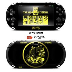 CiYuOnline VINYL SKIN PS Vita  One Piece 1 Black  STICKER DECAL COVER for Sony PlayStation Vita 2000 Console System >>> Be sure to check out this awesome product.Note:It is affiliate link to Amazon. #commentlike