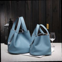 42.89$  Watch here - http://alipjr.worldwells.pw/go.php?t=32717725528 - 2016 New Women's handbags H famous brands top quality Genuine leather bags designer brand picotin lock ladies shopping bag