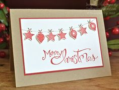 Stampin' Up ideas and supplies from Vicky at Crafting Clare's Paper Moments: Christmas biscuits, festively boxed up