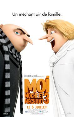 Gru trouve son jumeaux dans la seconde bande-annonce de Moi moche et méchant 3 !