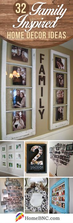 Family Inspired Home Decor Designs