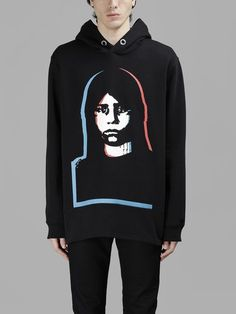 GIVENCHY Givenchy Man'S Printed Hoodie Look. #givenchy #cloth #sweaters