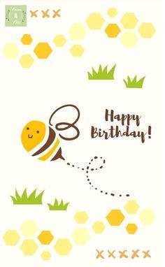 Happy Birthday Bee Birthday Songs Mp3, Happy Birthday Song Download, Happy Birthday Video, Birthday Cards, Free Birthday, Birthday Memes, Birthday Stuff, Birthday Ideas, Birthday Greetings For Facebook