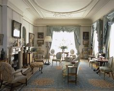 morning room of Clarence House