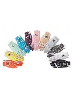 Ladies Golf Accessories : HJ Glove Fashion All Weather Golf Gloves-Available in Many NEW colors!