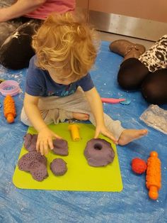 So many of you keep asking how I make my play dough and get it so soft at my classes! Well here's how: