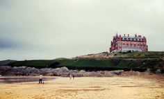 Cornwall: The Headland Hotel, Newquay. Where we used to stay as kids- and where the witches was filmed!