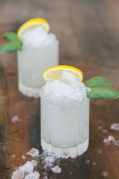 A cocktail recipe using basil and ginger infused simple syrup, lemonade and vodka!