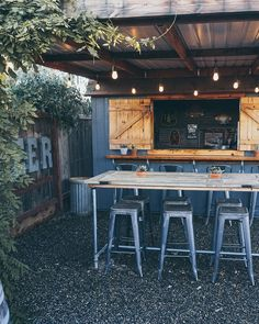 Backyard Beer Brewery Bar Shed Backyard Bar Shed. Makers gotta' make … some beer. Rustic Outdoor Bar, Outdoor Garden Bar, Garden Bar Shed, Pool Shed, Backyard Bar, Rustic Backyard, Backyard Sheds, Patio Bar, Outdoor Bars