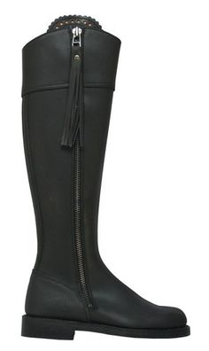Spanish Riding leather Boots by Valverde del Camino -Made in Spain