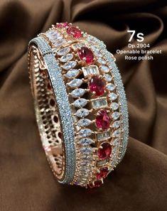 Bangles, Bracelets, Indian, Jewellery, Diamond, Fashion, Moda, Jewels, Fashion Styles