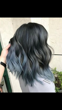 Are you looking for ombre hair color for grey silver? See our collection full of ombre hair color for grey silver and get inspired! hair color hair styles 75 Ombre Hair Color For Grey Silver Grey Ombre Hair, Ombre Hair Color, Hair Color Balayage, Cool Hair Color, Blue Ombre, Silver Ombre, Silver Hair, Silver Color, Blue Grey Hair