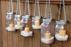 Cute candle holders DIY