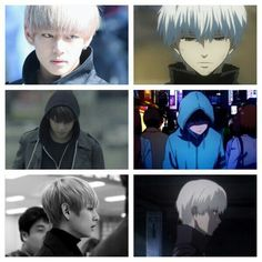 V and Kaneki. This is something my heart can't take. TT^TT