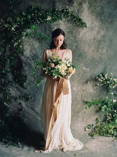 Botanical Wedding Flower Inspiration