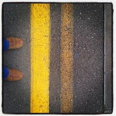 Sempre #dietrolalineagialla - Photo by @eltubaro