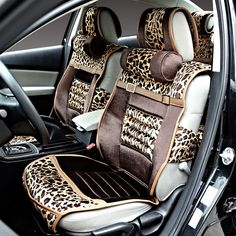 Car seat cushion four seasons general leopard print fashion steps leaps crv civic earthsound famously on AliExpress.com. $129.38