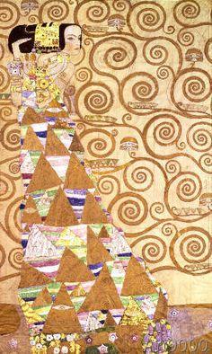 Gustav Klimt - G.Klimt / Stoclet frieze / Anticipation
