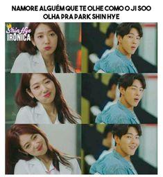 Memes Para Dorameiros   Shared Folder   • Doramas Brasil • Amino Park Shin Hye, Kdrama Memes, Bts Memes, Korean Drama Best, Park Bo Young, Im Sad, Im Not Okay, Kpop, Look Alike