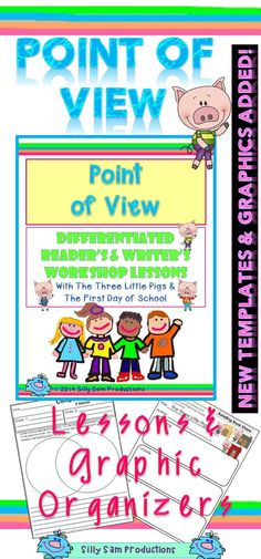 3 LITTLE PIGS and THE KISSING HAND...Best Selling POINT OF VIEW! Reader's and Writer's Workshop Lessons has 12 NEW pages of Templates and Graphic Organizers. Adorable new ClipArt too! $ (scheduled via http://www.tailwindapp.com?utm_source=pinterest&utm_medium=twpin&utm_content=post12231116&utm_campaign=scheduler_attribution)