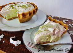Raw Matcha Coconut Cream Pie from Fragrant Vanilla Cake