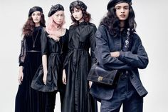 Camille Hurel, Fernanda Ly, Grace Hartzel & Aira Ferreira by Brigitte Lacombe for Dior F/W 2017
