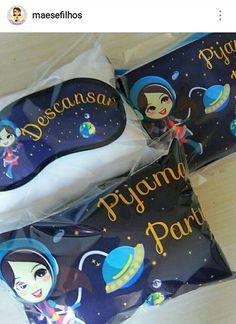 Festa do pijama Astronauta